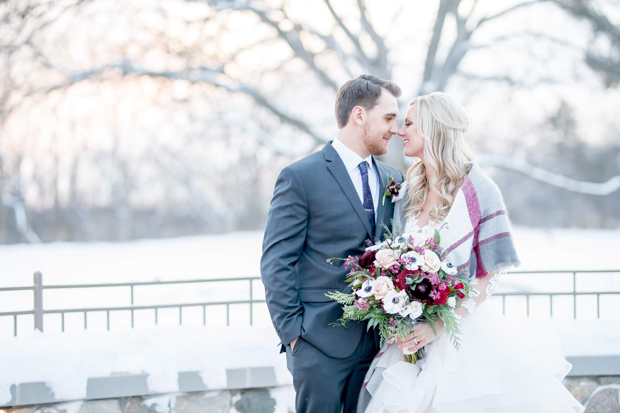 Rockford Michigan, Winter Wedding, Christina Leskovar Photography, Blythfield Country Club-49