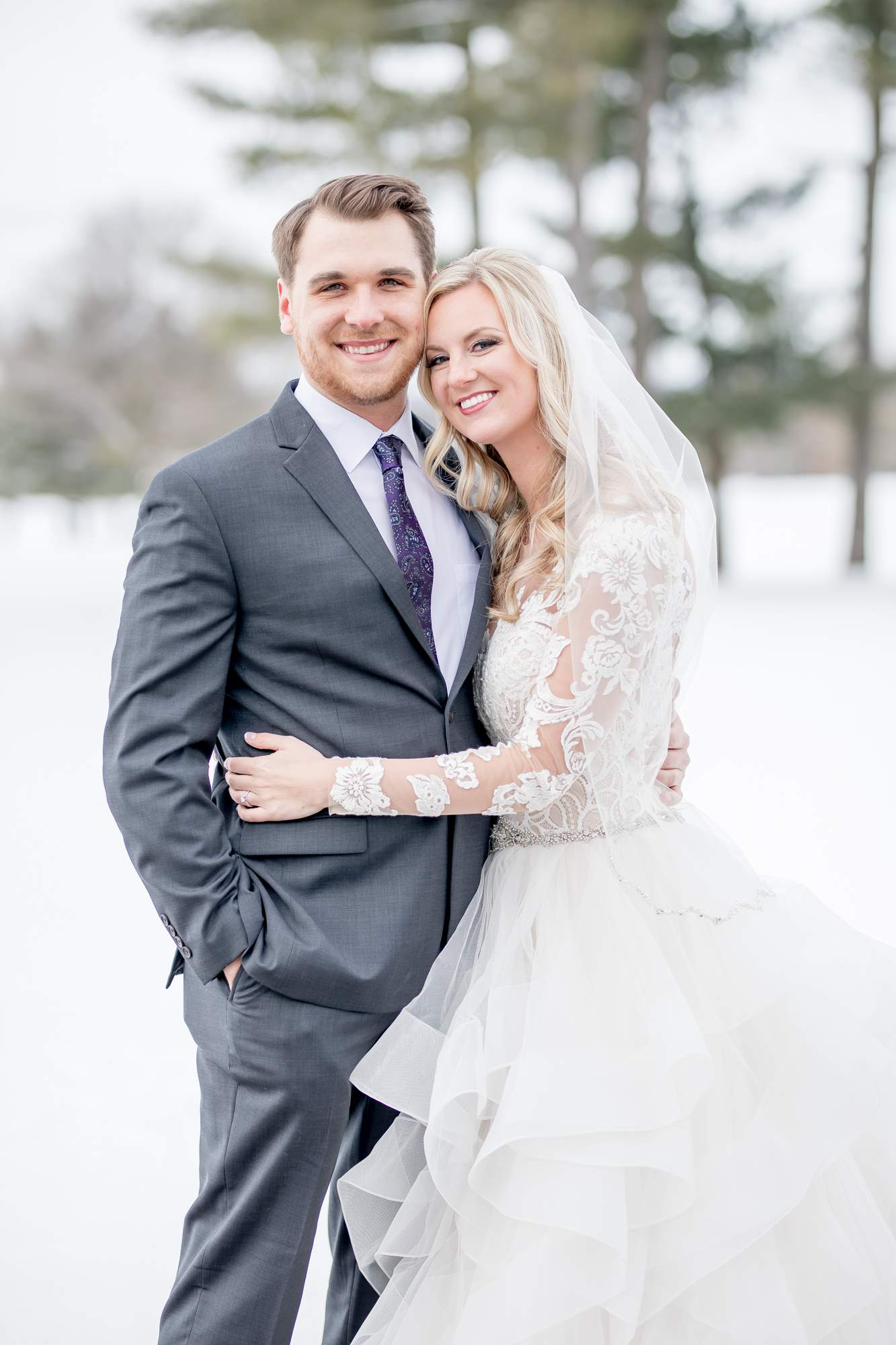 Rockford Michigan, Winter Wedding, Christina Leskovar Photography, Blythfield Country Club-20