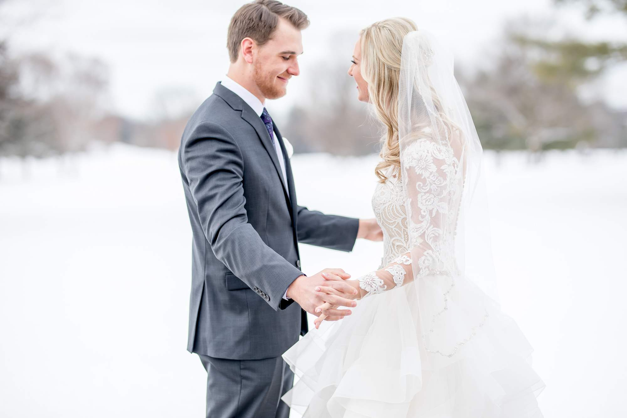 Rockford Michigan, Winter Wedding, Christina Leskovar Photography, Blythfield Country Club-13